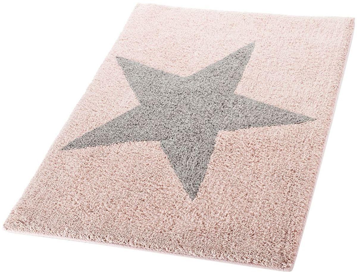 Коврик для ванной комнаты Ridder Star, цвет: розовый, 60 х 90 см712307Высококачественный коврик Ridder Star - подарок для ваших ножек. Состав: 100% микроволокно из акрила. Подложка: латекс. Стирать при щадящем режиме 30°С. Можно сушить в сушильной машине. Не подвергать химической чистке. Не гладить.