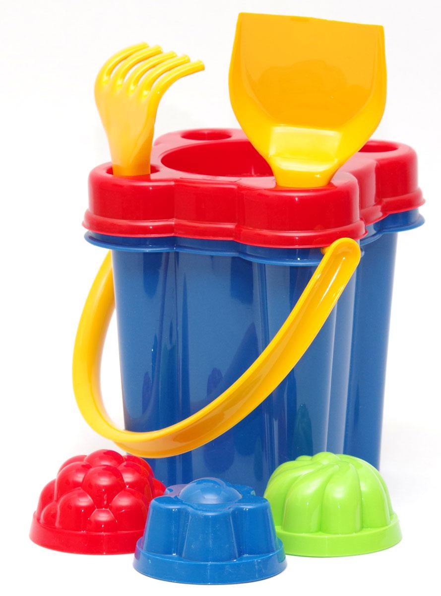 Karolina Toys Набор для песочницы Замок 7 предметов karolina toys игровой набор кегли