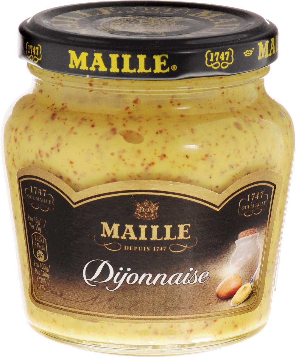 Maille Дижонез Соус майонезный, 200 г215316Оригинальный соус на основе сливочного французского майонеза и Дижонской горчицы Maille.