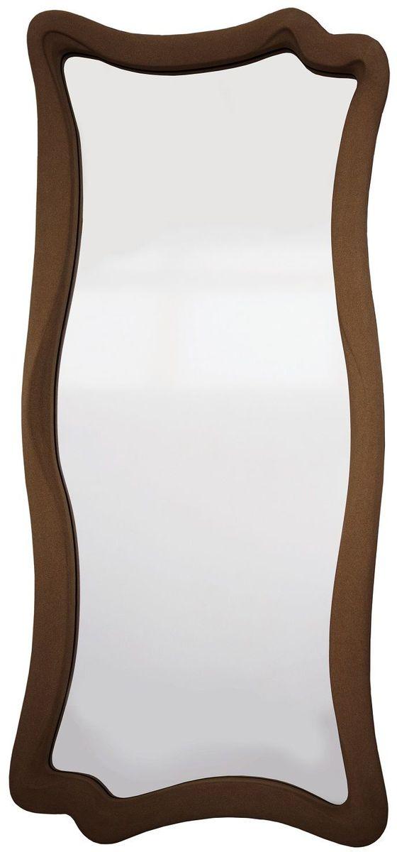 Зеркало VezzoLLi Марэ, цвет: коричневый, 53 х 120 смFS-80299Рама изделия окрашена в цвет, который визуально и на ощупь напоминает замшу. Подвесы в комплекте.