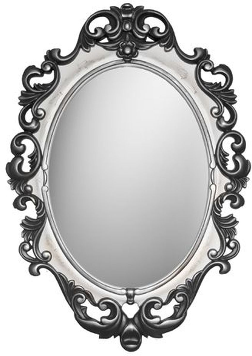 Зеркало VezzoLLi Винтаж, цвет: черный, 67 х 96 смFS-91909С обратной стороны зеркало снабжено двумя металлическими подвесами. Видимый размер зеркального полотна 60х43,5 см.