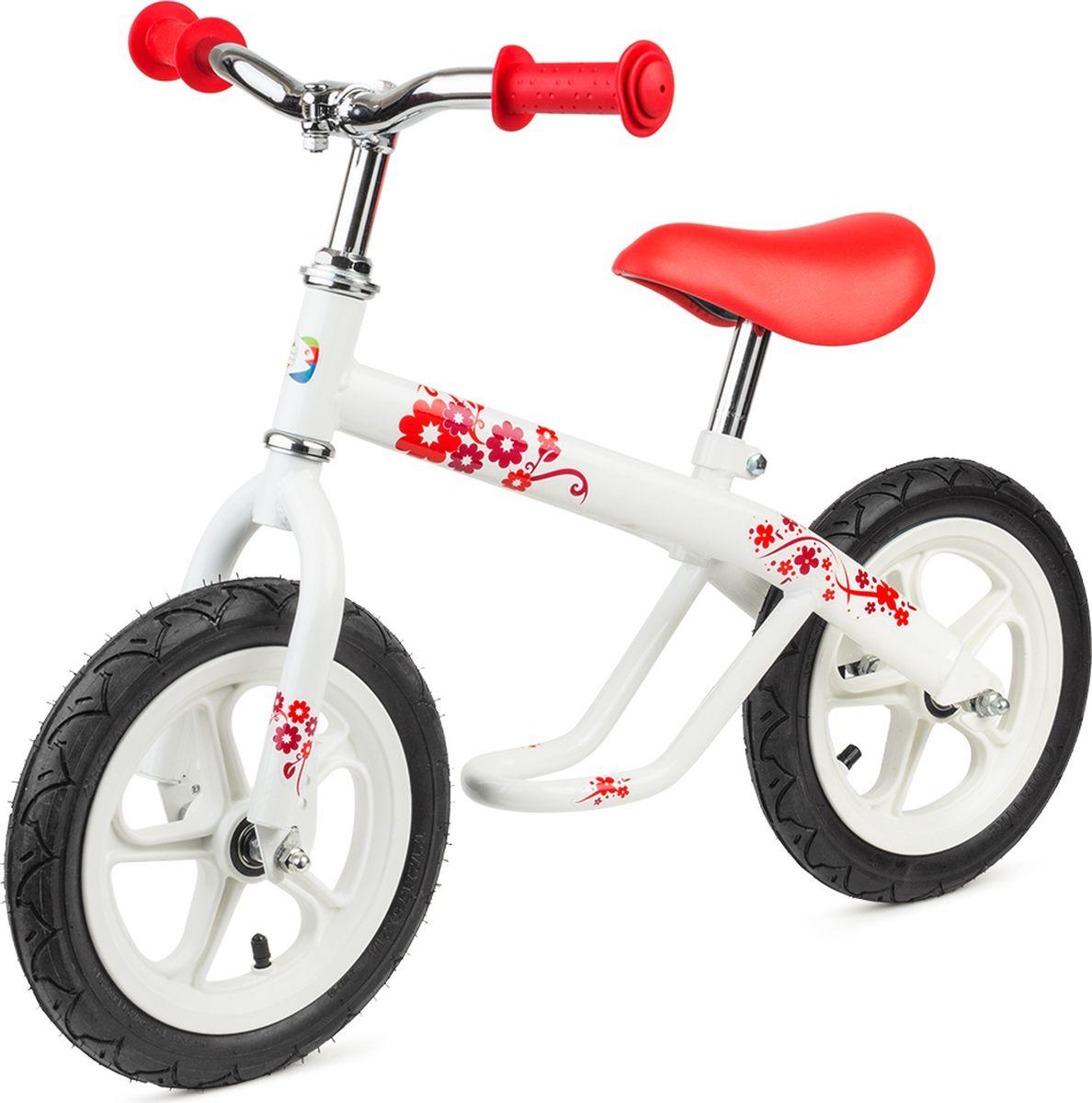 Chillafish Беговел детский Jack & Josie цвет белый детский велосипед jack pirabike 16