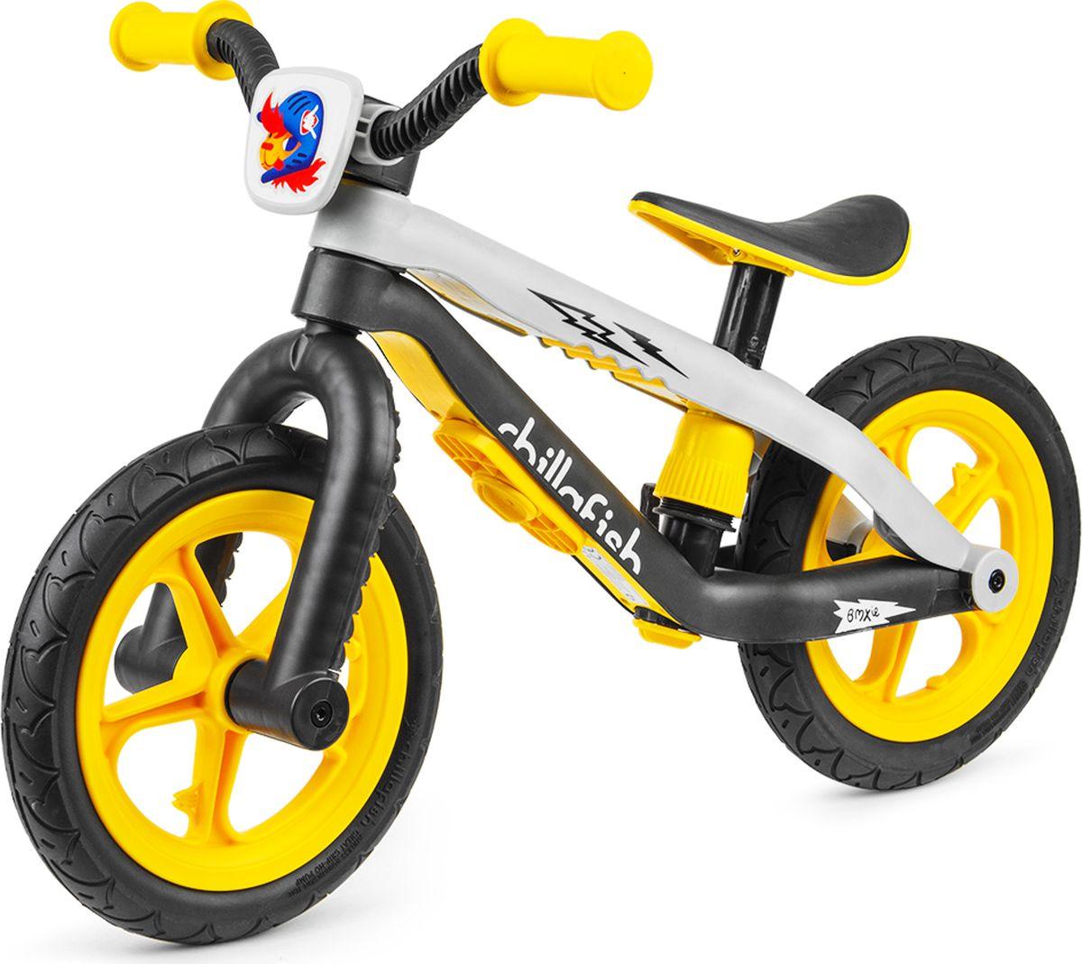 Chillafish Беговел детский BMXie-RS цвет желтый