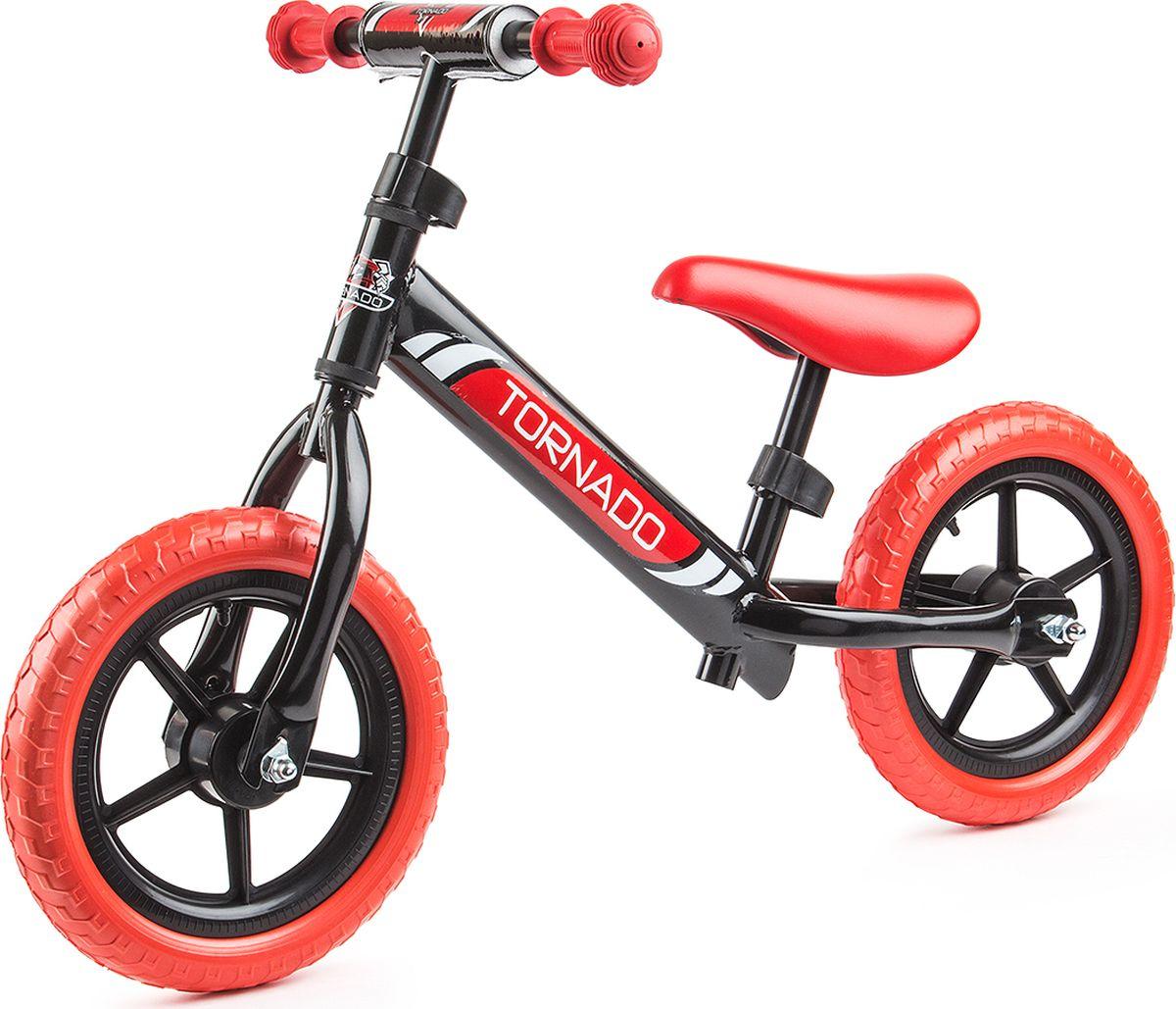 Small Rider Беговел детский Tornado цвет черный красный