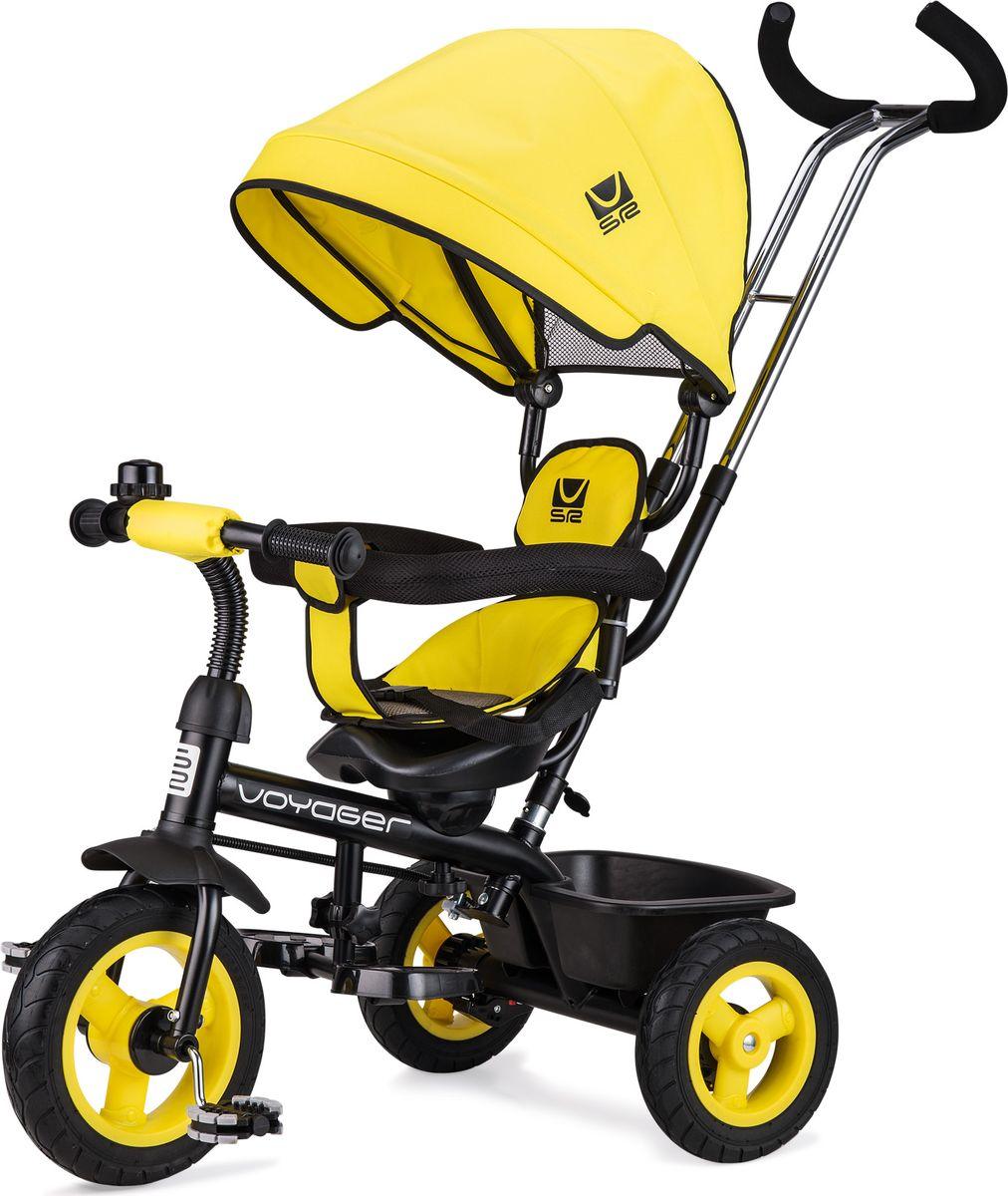 Small Rider Велосипед трехколесный Voyager цвет желтый