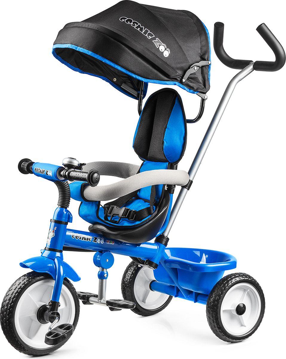 Small Rider Велосипед детский трехколесный Cosmic Zoo Trike цвет синий - Велосипеды-каталки