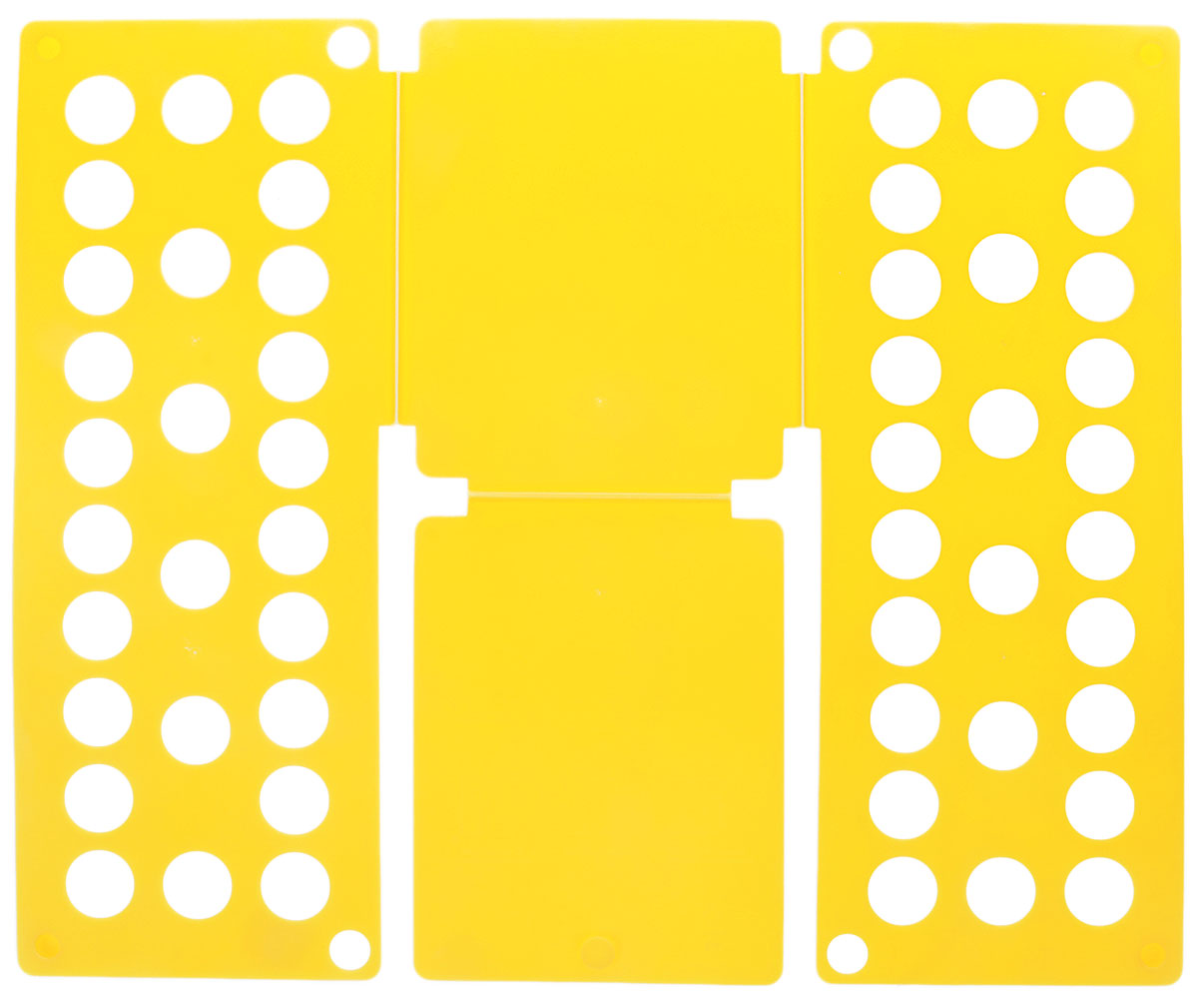 Приспособление для складывания одежды Sima-land, цвет: желтый1411846_желтыйПриспособление для складывания одежды Sima-land поможет навести порядок в вашем шкафу. С ним вы сможете быстро и аккуратно сложить вещи. Приспособление подходит для складывания полотенец, рубашек поло, вещей с короткими и длинными рукавами, футболок, штанов. Не подойдет для больших размеров одежды. Приспособление выполнено из качественного прочного пластика. Изделие компактно складывается и не занимает много места при хранении. Размер в сложенном виде: 40 х 16 см. Размер в разложенном виде: 48 х 40 см.