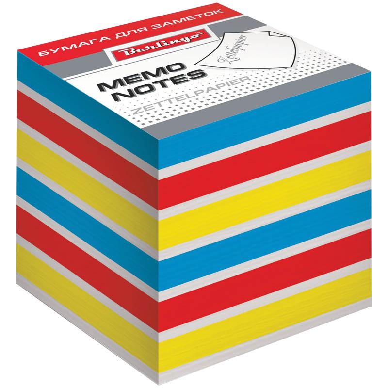 Berlingo Бумага для заметок Rainbow 8 х 8 х 8 см 800 листов382001Бумага для заметок Berlingo Rainbow - это удобное и практичное решение для быстрой записи информации дома или на работе. Блок для заметок на склейке из бумаги четырех цветов: красного, желтого, синего и белого.