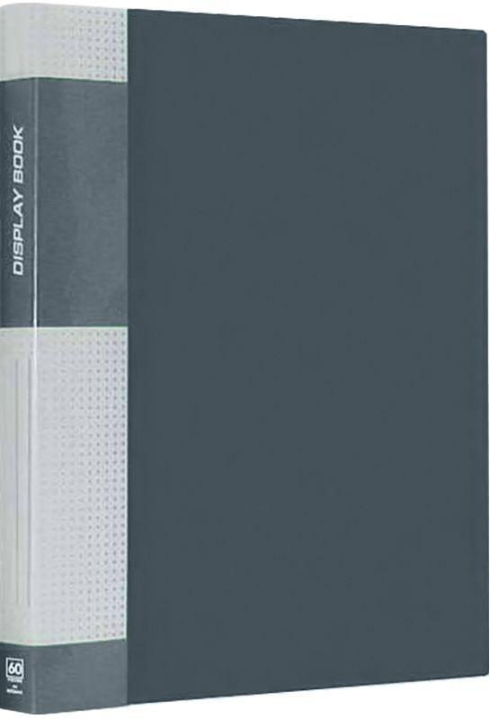 Berlingo Папка Standard с 40 вкладышами цвет серый2010440Функциональная папка с прозрачными вкладышами. Материал - плотный пластик. Классические офисные цвета. Индивидуальная упаковка в пленку.