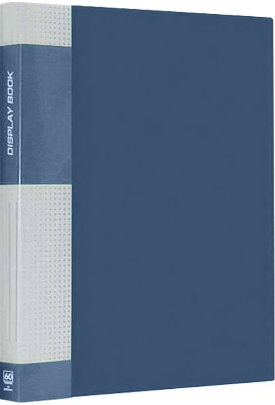 Berlingo Папка Standard с 40 вкладышами цвет синийFS-54115Функциональная папка с прозрачными вкладышами. Материал - плотный пластик. Классические офисные цвета. Индивидуальная упаковка в пленку.