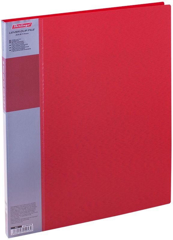 Berlingo Папка с зажимом Standard цвет красныйMT2451Папка с зажимом Standard позволяет хранить и переносить документы, защищает их от пыли. Металлический зажим надежно фиксирует документы, не повреждая их. Изготовлена из плотного яркого пластика. Классические офисные цвета в ассортименте. В корешок папки вставляется лист для описания и названия, внутри папки имеется кармашек для мелких бумаг.