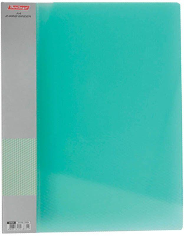 Berlingo Папка Diamond с 30 вкладышами цвет зеленый828446Функциональная папка с прозрачными вкладышами удобна для хранения и демонстрации документов А4. На папке предусмотрена сменная этикетка на корешке для маркировки. Изготовлена из фактурного полупрозрачного пластика.Ширина корешка - 17 мм.