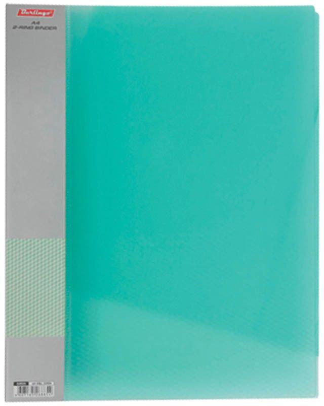 Berlingo Папка Diamond с 40 вкладышами цвет зеленыйFS-54115Функциональная папка с прозрачными вкладышами удобна для хранения и демонстрации документов А4. На папке предусмотрена сменная этикетка на корешке для маркировки. Изготовлена из фактурного полупрозрачного пластика.Ширина корешка - 21 мм.