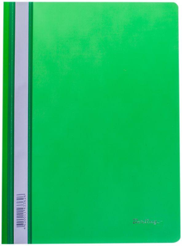Berlingo Папка-скоросшиватель цвет зеленый 20 штFS-36054Папка-скоросшиватель Berlingo - это удобный и практичный офисный инструмент, предназначенный для бережного хранения и транспортировки перфорированных рабочих бумаг и документов формата А4.Папка изготовлена из полупрозрачного фактурного пластика толщиной 0,7 см, оснащена металлическим пружинным скоросшивателем и дополнена прозрачным кармашком на корешке со съемной этикеткой для маркировки.Папка-скоросшиватель надежно сохранит ваши документы и сбережет их от повреждений, пыли и влаги.