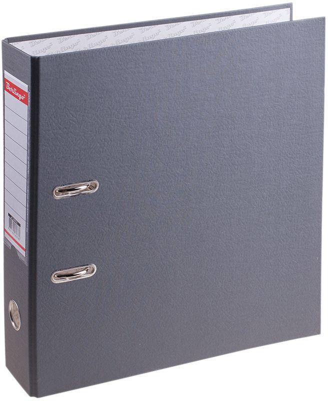 Berlingo Папка-регистратор цвет серый AM4514AM4514Папка-регистратор Berlingo пригодится в каждом офисе и доме для хранения больших объемов документов. Внешняя сторона папки выполнена из плотного картона с ПВХ-покрытием, что обеспечивает устойчивость к влаге и износу.Папка-регистратор оснащена надежным арочным механизмом крепления бумаги. Круглое отверстие в корешке папки облегчит ее извлечение с полки, а прозрачный карман со съемной этикеткой позволяет маркировать содержимое.