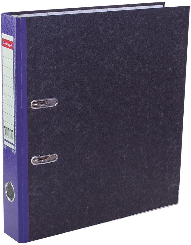 Berlingo Папка-регистратор цвет мраморный синийFS-00103Папка-регистратор Berlingo выполнена в мраморно-сером и синем цвете. Обложка из жесткого износостойкого картона с односторонним покрытием из бумвинила. Конструкция разработана с учетом всех особенностей эксплуатации. Выгодно отличаются надежным арочным механизмом из качественного металла, наличием кармана на корешке со сменным информационным ярлыком для маркировки, полем для записей на внутренней стороне обложки, отверстием для удобного снятия папки с полки.