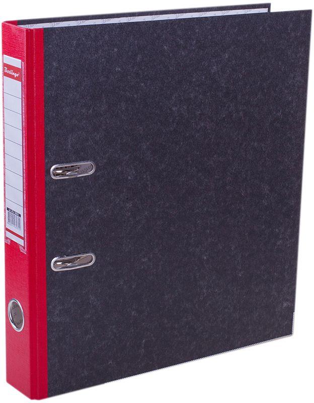 Berlingo Папка-регистратор цвет мраморный красныйAC-1121RDПапка-регистратор Berlingo пригодится в каждом офисе и доме для хранения больших объемовдокументов.Обложка изготовлена из жесткого износостойкого картона. Папкаоснащена прочным металлическим арочным механизмом, обеспечивающим надежную фиксациюперфорированных бумаг и документов формата А4. Круглое отверстие в корешке папки облегчитее извлечение с полки, а прозрачный карман со съемной этикеткой позволяет маркироватьсодержимое. На внутренней стороне обложки размещено поле для записей.Нижняя грань папки имеет металлическую окантовку.Папка-регистратор станет вашим надежным помощником, она упростит работу с бумагами идокументами и защитит их от повреждения, пыли и влаги.