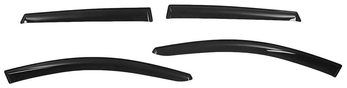 Дефлекторы окон Voron Glass Corsar, для Kia Ceed I 5d 2007-2012, Hyundai i30 I 5d 2007-2012, хетчбек, 4 штRC-100BWCИдеальное соответствие форме дверей. Лазерная обработка обеспечивает 100% прилегание. Надежная фиксация достигается благодаря оригинальному скотчу 3М с высокой адгезией. Отсутствие посторонних звуков во время эксплуатации.Дефлекторы произведены из сверхпрочного акрила. Материал устойчив к УФ излучению и механическому воздействию.Рекомендации по использованию:- Перед установкой производитель рекомендует ознакомиться с инструкцией. Правильная подготовка и монтаж дефлекторов позволят обеспечить максимально надежную фиксацию.- Каждый дефлектор покрыт защитной пленкой, гарантирующей отсутствие пыли и царапин. Обязательно снимите защитную пленку перед установкой.