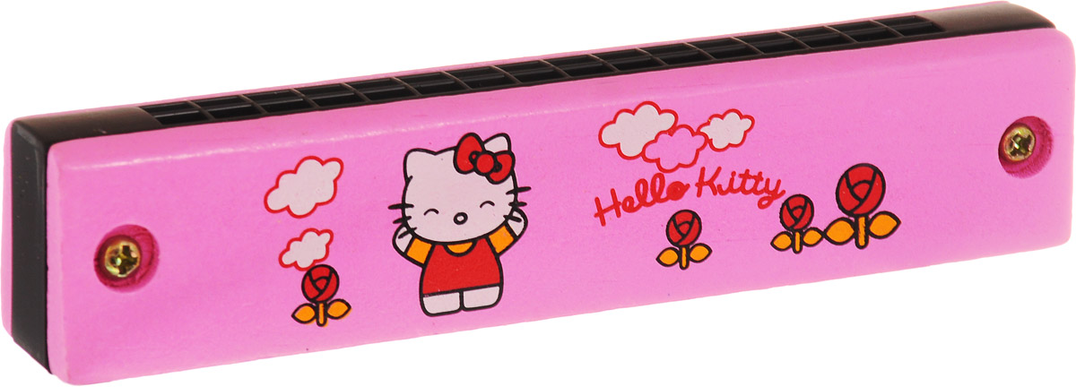 Фабрика Фантазий Губная гармошка Hello Kitty цвет розовый