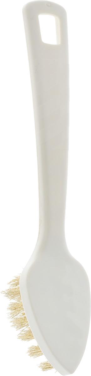 Щетка для замши Burstenmann, цвет: белый, длина 15 см1915/0030_белыйЩетка Burstenmann предназначена для удаления загрязнений с замшевых изделий. Металлическая щетина щетки не оставит от грязи и следа, а удобная пластиковая ручка сделает использование комфортным. Ручка снабжена специальной петелькой, с помощью которой щетку можно подвесить на крючок в любом удобном месте. Длина щетки: 15 см. Размер рабочей поверхности: 4,5 х 3 см.