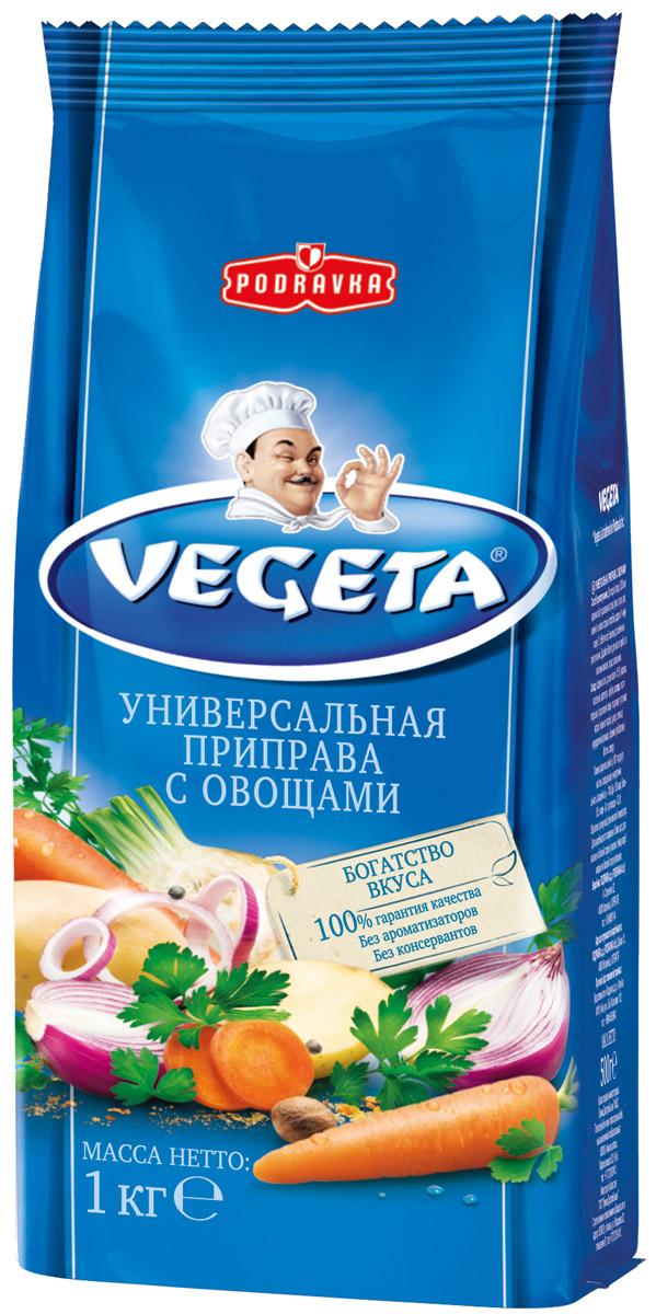 Vegeta универсальная приправа с овощами, 1 кг17156Надежный спутник ваших кулинарных приключений уже более 50 лет, приправа Vegeta продолжает оставаться одним из самых известных хорватских продуктов, без которого практически невозможно представить себе приготовление пищи.Область применения этой комбинации сушеных овощей и специй не ограничена: это и овощи, и мясо, и гарниры, и все, что угодно на гриле, и минималистские блюда, и блюда из сложных деликатесов - одной чайной ложки приправы Vegeta всегда достаточно, чтобы почувствовать тонкую разницу. Поэтому, готовя еду, дайте свободу своей фантазии и наслаждайтесь - еще много новых комбинаций приправы Vegeta ждет встречи с вами!Уважаемые клиенты! Обращаем ваше внимание, что полный перечень состава продукта представлен на дополнительном изображении.