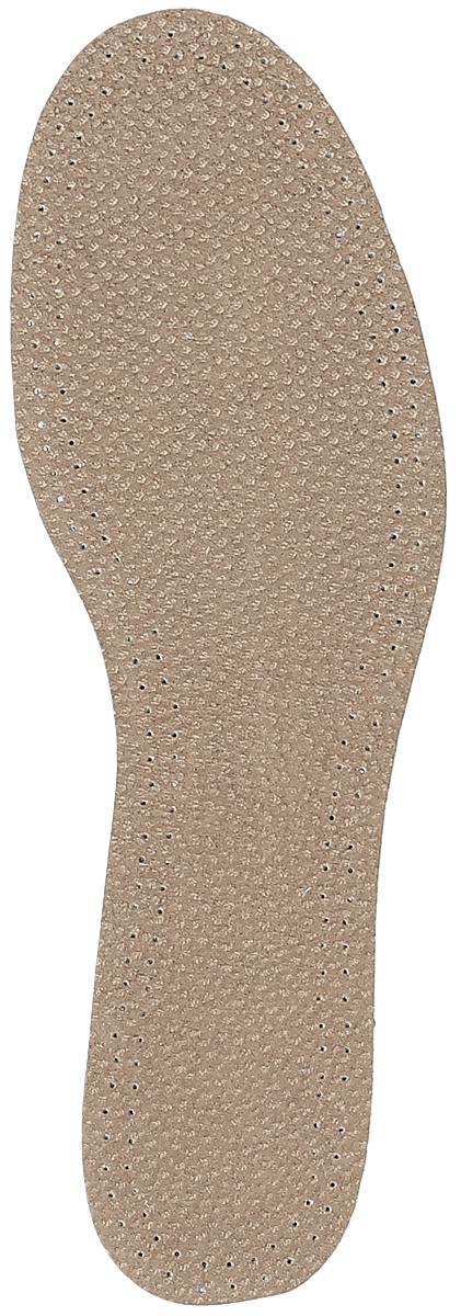 Стелька OmaKing, с содержанием активированного угля, цвет: коричневый, 2 шт. T440-37. Размер 36/37SV3112РЖКожаные стельки изготовлены из эластичной свиной кожи на подкладке из латекса с содержанием активированного угля, который помогает предотвратить запах, впитывает влагу и создает благоприятный микроклимат для ног. Стельки добавляют комфорт и обеспечивают защиту для вашей обуви.