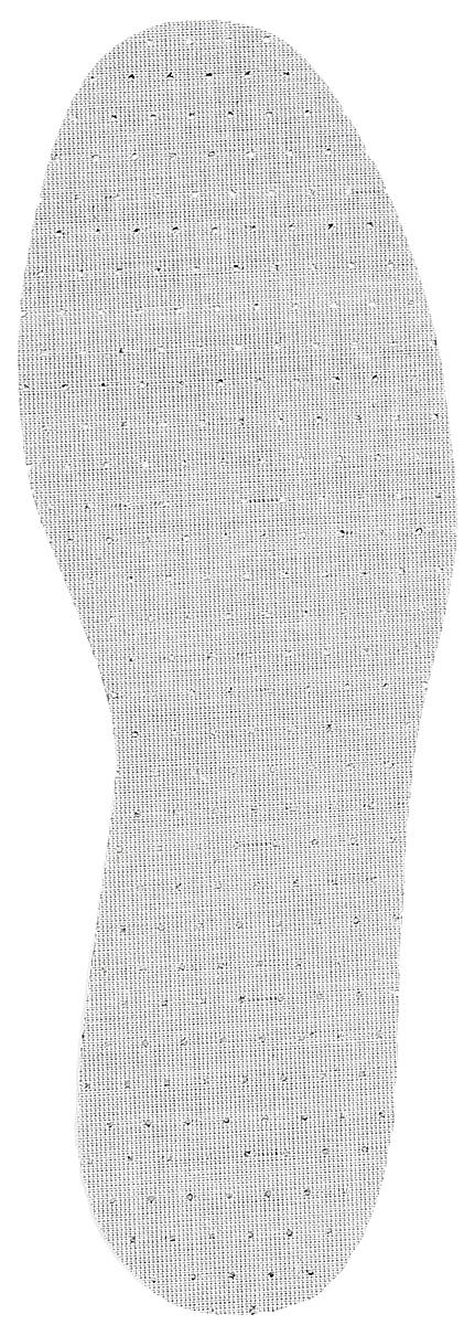 Стелька OmaKing, ароматизированная, влагопоглощающая, цвет: черный, 2 шт. T111-39. Размер 38/39MW-3101Влагопоглощающие стельки от OmaKing изготовлены из перфорированного латекса с пропиткой из активированного угля. Активированный уголь впитывает влагу и нейтрализует запах пота. Стельки добавляют комфорт и обеспечивают защиту для вашей обуви.