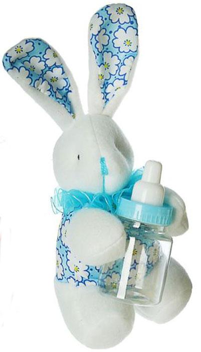 Sima-land Мягкая игрушка Ушастый зайка цвет голубой sima land мягкая игрушка сердце 309576