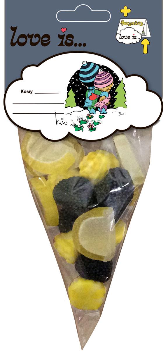 Love is мармелад БлэкМикс, 75 г4640000272265Мармеладное изобилие от Love is: ежевика, дольки лимона и жевательный мармелад с жидким центром - этому коктейлю будет рад каждый. Добавьте любви в ваши будни! В каждой упаковке забавный стикер для коллекции.Уважаемые клиенты! Обращаем ваше внимание на то, что упаковка может иметь несколько видов дизайна. Поставка осуществляется в зависимости от наличия на складе.