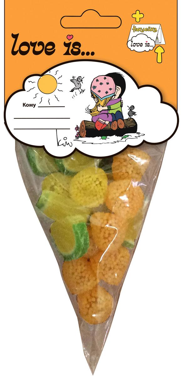 Love is мармелад ОранжМикс, 75 г4640000272265Оранжмикс от Love is - это микс из 4-х видов мармелада: апельсиновые дольки, мармелад в обсыпке со вкусом лимона, мандарина и жевательный мармелад с жидким центром с нежнейшим йогурно-апельсиновым вкусом. Наслаждение для ваших любимых! В каждой упаковке стикер с любимыми героями от Love is.Уважаемые клиенты! Обращаем ваше внимание на то, что упаковка может иметь несколько видов дизайна. Поставка осуществляется в зависимости от наличия на складе.