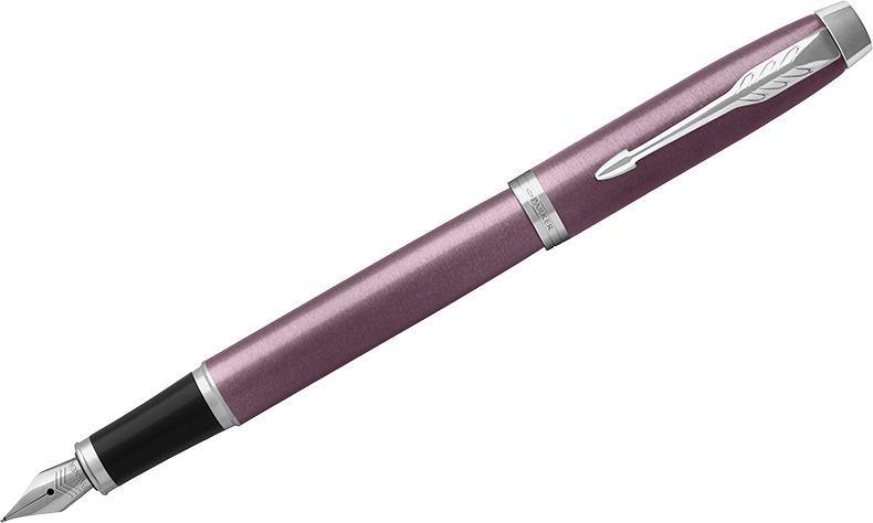 Parker Ручка перьевая IM Light Purple CT синяя72523WDПерьевая ручка в лакированном корпусе пурпурного цвета с круговой полировкой. Хромированная отделка деталей с полировкой