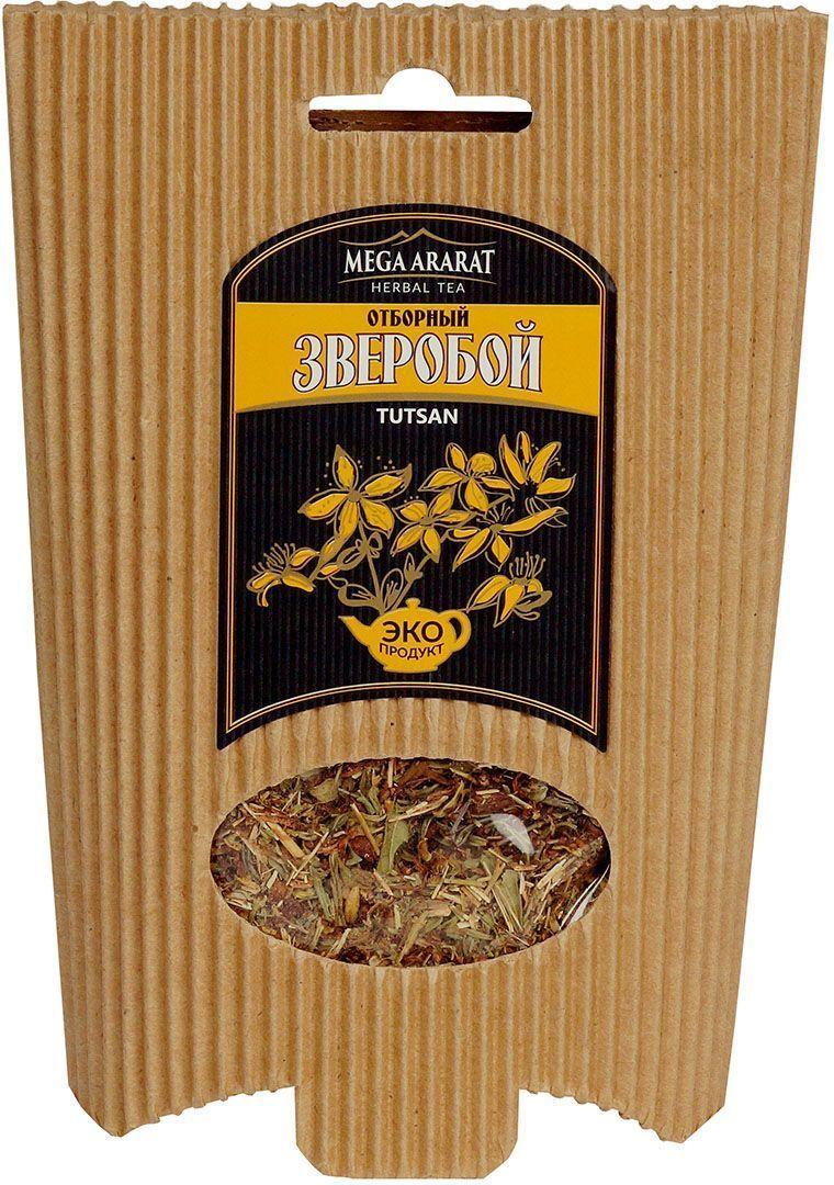 Mega Ararat Зверобой трава травяной чай листовой, 50 г0120710Mega Ararat Зверобой трава - натуральный продукт из высокогорных, экологически чистых регионов Армении ручной сборки и традиционной сушки без химических добавок. Некрепкий чай из зверобоя является хорошей профилактической мерой при расстройствах желудка. Отвар зверобоя обладает антисептическими и вяжущими свойствами. Его можно применять при воспалении дыхательных путей, стоматите, колите и различных кишечных заболеваниях, а также позволительно для лечения головной боли и для улучшения процессов обмена веществ.