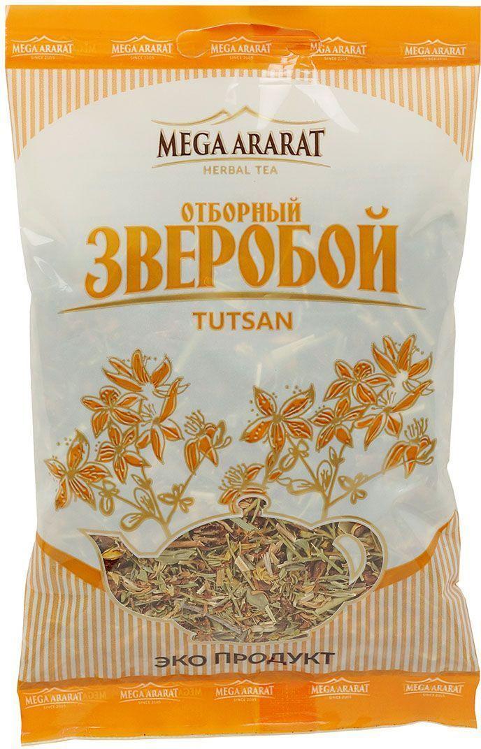 Mega Ararat Зверобой трава травяной чай листовой, 40 г0120710Mega Ararat Зверобой трава - натуральный продукт из высокогорных, экологически чистых регионов Армении ручной сборки и традиционной сушки без химических добавок. Некрепкий чай из зверобоя является хорошей профилактической мерой при расстройствах желудка. Отвар зверобоя обладает антисептическими и вяжущими свойствами. Его можно применять при воспалении дыхательных путей, стоматите, колите и различных кишечных заболеваниях, а также позволительно для лечения головной боли и для улучшения процессов обмена веществ.