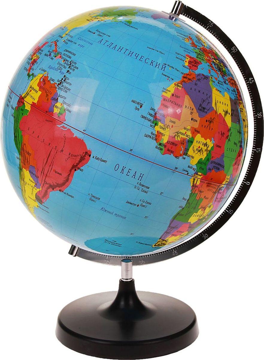 Глобус Политическая карта диаметр 32 см -  Канцтовары и организация рабочего места