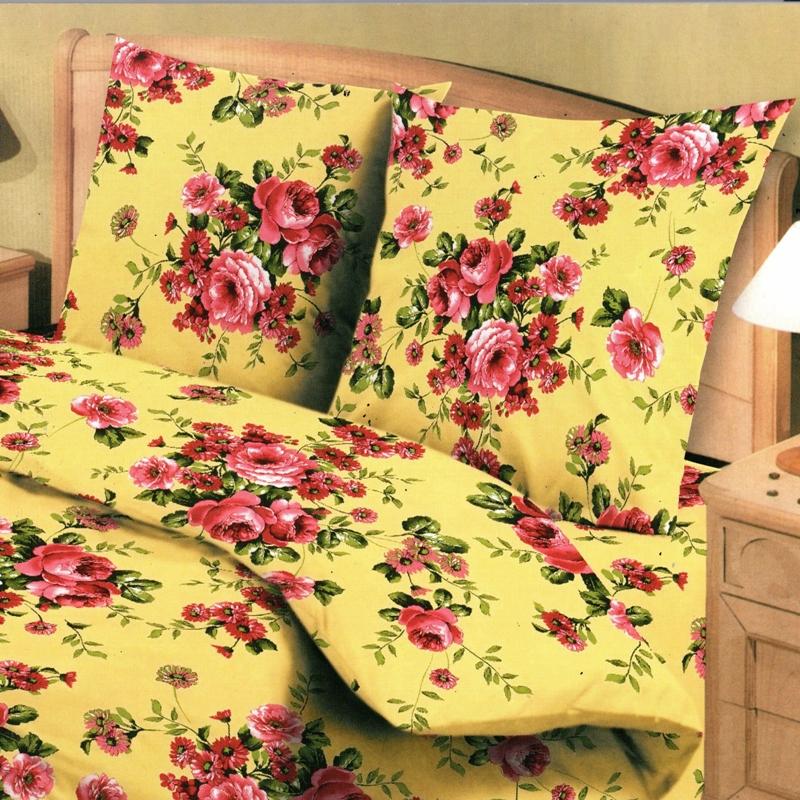 Комплект белья Letto Традиция, 1,5-спальный, наволочки 70х70. B120-3FD-59Комплект постельного белья Letto Традиция выполнен из бязи (натурального хлопка). Комплект состоит из пододеяльника, простыни и двух наволочек. Постельное белье оформлено оригинальным цветочным рисунком и имеет изысканный внешний вид. Пододеяльник снабжен молнией.Гладкая структура делает ткань приятной на ощупь, мягкой и нежной, при этом она прочная и хорошо сохраняет форму. Благодаря такому комплекту постельного белья вы сможете создать атмосферу роскоши и романтики в вашей спальне.