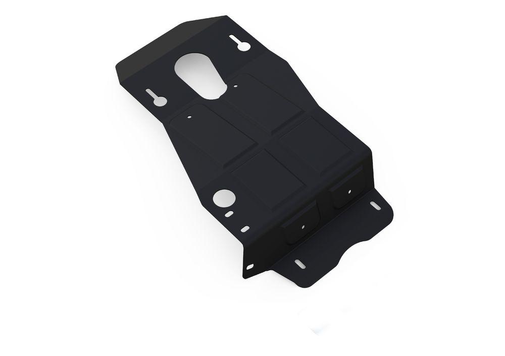 Защита КПП и РК Автоброня, для UAZ Patriot V-все, (2013-2014-)CA-3505Технологически совершенный продукт за невысокую стоимость.Защита разработана с учетом особенностей днища автомобиля, что позволяет сохранить дорожный просвет с минимальным изменением.Защита устанавливается в штатные места кузова автомобиля. Глубокий штамп обеспечивает до двух раз больше жесткости в сравнении с обычной защитой той же толщины. Проштампованные ребра жесткости препятствуют деформации защиты при ударах.Тепловой зазор и вентиляционные отверстия обеспечивают сохранение температурного режима двигателя в норме. Скрытый крепеж предотвращает срыв крепежных элементов при наезде на препятствие.Шумопоглощающие резиновые элементы обеспечивают комфортную езду без вибраций и скрежета металла, а съемные лючки для слива масла и замены фильтра - экономию средств и время.Конструкция изделия не влияет на пассивную безопасность автомобиля (при ударе защита не воздействует на деформационные зоны кузова). Со штатным крепежом. В комплекте инструкция по установке.Толщина стали: 2 мм.Уважаемые клиенты!Обращаем ваше внимание, что элемент защиты имеет форму, соответствующую модели данного автомобиля. Фото служит для визуального восприятия товара и может отличаться от фактического.