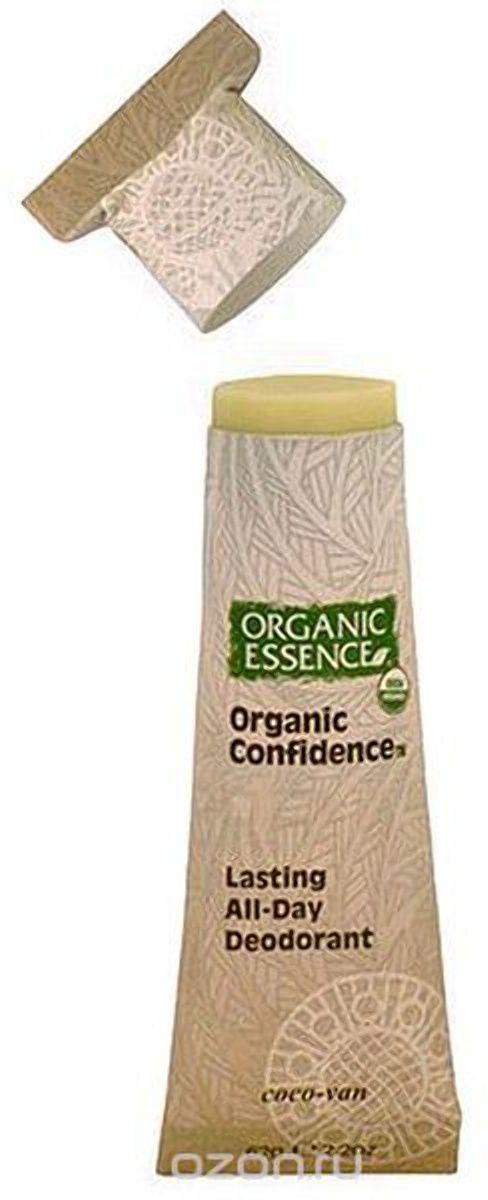 Organic Essence Органический дезодорант, Кокос-Ваниль 62 гFS-00897Дезодорант Organic Essence- это уникальный и эффективный продукт. Органическое кокосовое масло одновременно борется с бактериями и смягчает кожу подмышек. Пищевая сода также нейтрализует бактерии, вызывающие неприятный запах и обеспечивает длительную работу дезодоранта в течение всего дня. Упаковка из картона полностью компостируется. Не содержат: ГМО, наночастицы, парабены, пропиленгликоль, синтетических красителей, ароматизаторов, алюминия, EDTA, триклозан и другие токсичные вещества.USDA сертифицированный органический продукт.
