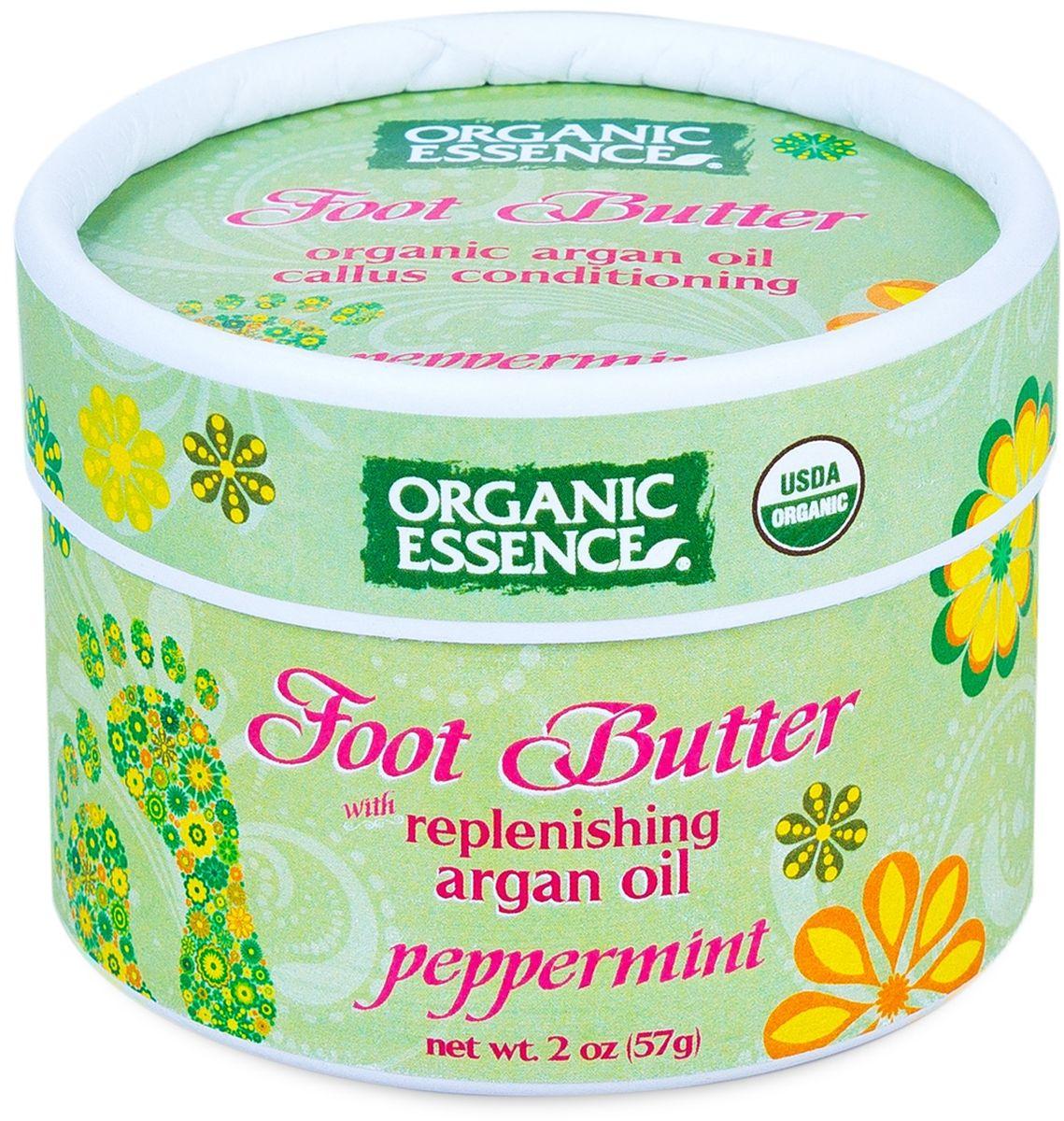 Organic Essence Органический крем для ног Мята перечная 57 гр435421Органический ежедневный крем для ног увлажняет и обеспечивает комфорт для усталых ног. Марокканское аргановое масло, богатое витамином Е, и органические растительные экстракты успокаивают кожу ног, Мятное масло охлаждает и устраняет запах ног, в то время как масло Ши смягчает и увлажняет грубую, сухую и мозолистую кожу ног. Используйте два раза в день. Так же может быть использовано для сухой кожи на локтях и коленях.