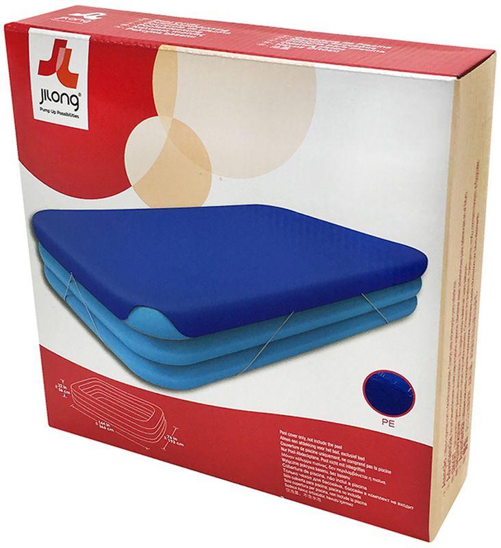 Чехол для бассейна Jilong Giant, цвет: синий, 305 х 183 х 50 см09840-20.000.00Чехол для бассейнов GIANT POOL COVER - Для бассейнов GIANT размером 305x183x50см- Прочный материал- 1 штука в упаковке- Цвет: голубойАртикул:57010Упаковка:коробкаРазмер упаковки: 25х25х6,5 смВес: 0,620 кгКомпания JILONG это широкий выбор продукции высокого качества и отличный выбор для отдыха на природе.