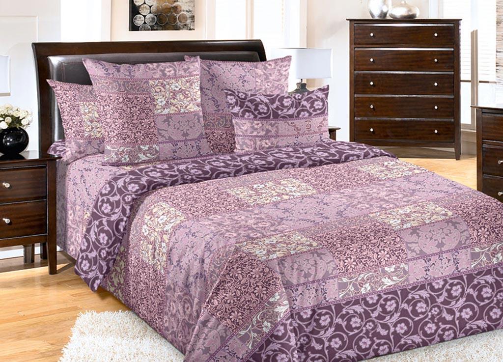 Комплект белья Primavera Цветок сиреневый, 2-спальный, наволочки 70x7010503Комплект постельного белья Primavera Цветок сиреневый является экологически безопасным для всей семьи, так как выполнен из высококачественного перкаля. Комплект состоит из пододеяльника на молнии, простыни и двух наволочек. Постельное белье оформлено цветочным узором и имеет изысканный внешний вид. Перкаль представляет собой очень прочную ткань высочайшего качества, которую производят из чесаного хлопка. Перкаль обладает матовой, слегка бархатистой поверхностью. Несмотря на высокую прочность и плотность, перкаль - мягкий и нежный материал. Приобретая комплект постельного белья Primavera Цветок сиреневый, вы можете быть уверенны в том, что покупка доставит вам и вашим близким удовольствие и подарит максимальный комфорт.