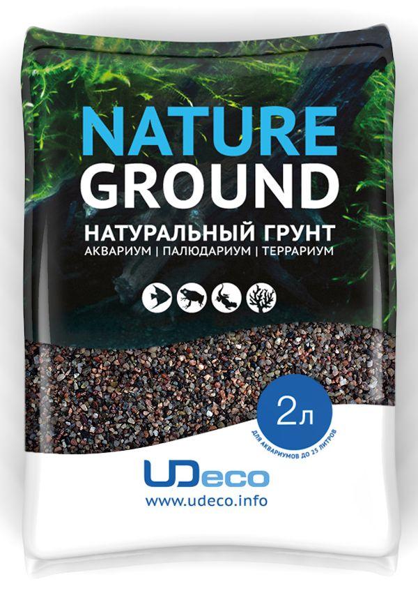 Грунт для аквариума UDeco Коричневый песок, натуральный, 0,6-2,5 мм, 2 лUDC410322Натуральный грунт UDeco Коричневый песок предназначен специально для оформления аквариумов, палюдариумов и террариумов.Грунт UDeco порадует начинающих любителей природы и самых придирчивых дизайнеров, стремящихся к созданию нового, оригинального. Такая декорация придутся по вкусу и обитателям аквариумов и террариумов, которые ещё больше приблизятся к природной среде обитания.Предназначен для аквариумов от 20 литров. Фракция: 0,6-2,5 мм.Объем: 2 л.