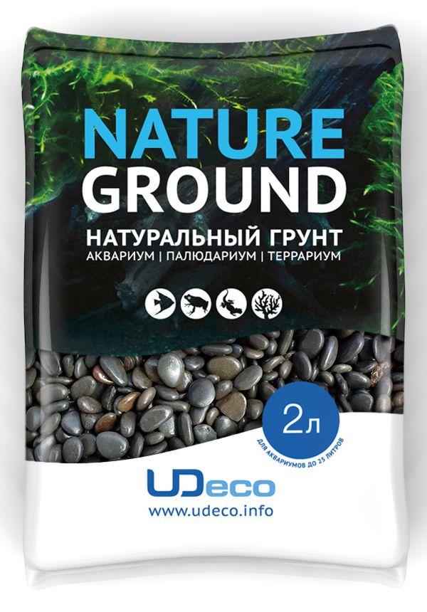 Грунт для аквариума UDeco Темный гравий, натуральный, 6-9 мм, 2 лUDC410672Натуральный грунт UDeco Темный гравий предназначен специально для оформления аквариумов, палюдариумов и террариумов. Изделие готово к применению.Грунт UDeco порадует начинающих любителей природы и самых придирчивых дизайнеров, стремящихся к созданию нового, оригинального. Такая декорация придутся по вкусу и обитателям аквариумов и террариумов, которые ещё больше приблизятся к природной среде обитания.Необходимое количество грунта рассчитывается по формуле:длина аквариума х ширина аквариума х толщина слоя грунта. Предназначен для аквариумов от 25 литров. Фракция: 6-9 мм.Объем: 2 л.