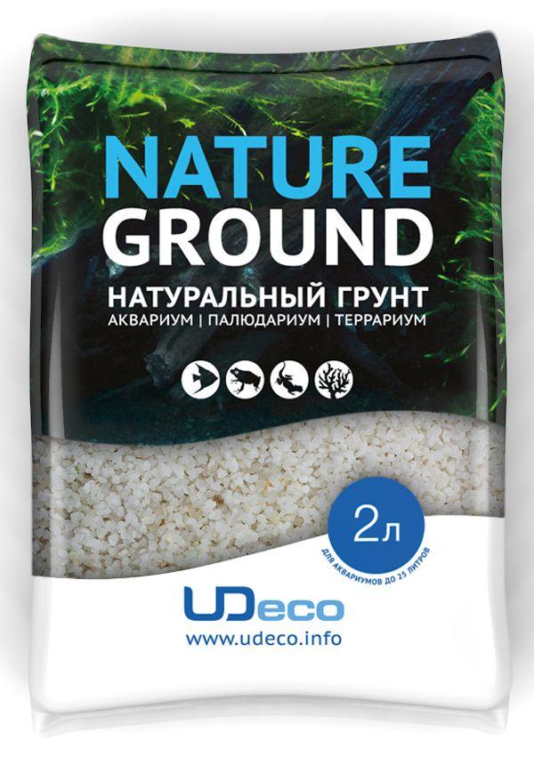 Грунт для аквариума UDeco Мраморный гравий, натуральный, 2-3 мм, 2 л0120710Натуральный грунт UDeco Мраморный гравий предназначен специально для оформления аквариумов, палюдариумов и террариумов. Изделие готово к применению.Грунт UDeco порадует начинающих любителей природы и самых придирчивых дизайнеров, стремящихся к созданию нового, оригинального. Такая декорация придутся по вкусу и обитателям аквариумов и террариумов, которые ещё больше приблизятся к природной среде обитания.Необходимое количество грунта рассчитывается по формуле:длина аквариума х ширина аквариума х толщина слоя грунта. Предназначен для аквариумов от 25 литров. Фракция: 2-3 мм.Объем: 2 л.