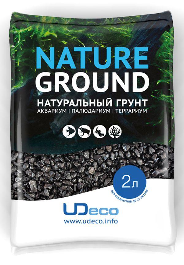 Грунт для аквариума UDeco Черный гравий, натуральный, 4-6 мм, 2 лUDC420352Натуральный грунт UDeco Черный гравий предназначен специально для оформления аквариумов, палюдариумов и террариумов. Изделие готово к применению.Грунт UDeco порадует начинающих любителей природы и самых придирчивых дизайнеров, стремящихся к созданию нового, оригинального. Такая декорация придутся по вкусу и обитателям аквариумов и террариумов, которые ещё больше приблизятся к природной среде обитания.Необходимое количество грунта рассчитывается по формуле:длина аквариума х ширина аквариума х толщина слоя грунта. Предназначен для аквариумов до 25 литров. Фракция: 4-6 мм.Объем: 2 л.