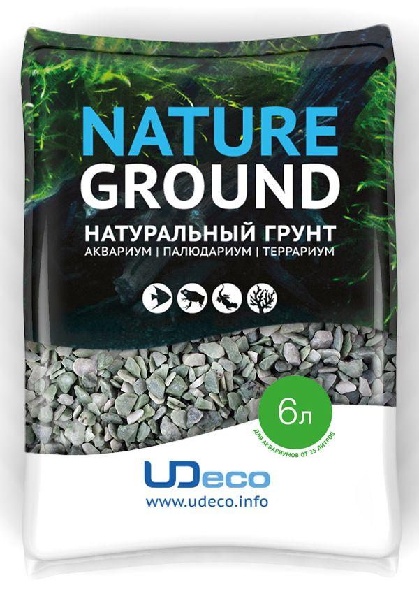 Грунт для аквариума UDeco Изумрудный гравий, натуральный, 4-6 мм, 6 л101246Натуральный грунт UDeco Изумрудный гравий предназначен специально для оформления аквариумов, палюдариумов и террариумов. Изделие готово к применению.Грунт UDeco порадует начинающих любителей природы и самых придирчивых дизайнеров, стремящихся к созданию нового, оригинального. Такая декорация придутся по вкусу и обитателям аквариумов и террариумов, которые ещё больше приблизятся к природной среде обитания.Необходимое количество грунта рассчитывается по формуле:длина аквариума х ширина аквариума х толщина слоя грунта. Предназначен для аквариумов от 25 литров. Фракция: 4-6 мм.Объем: 6 л.