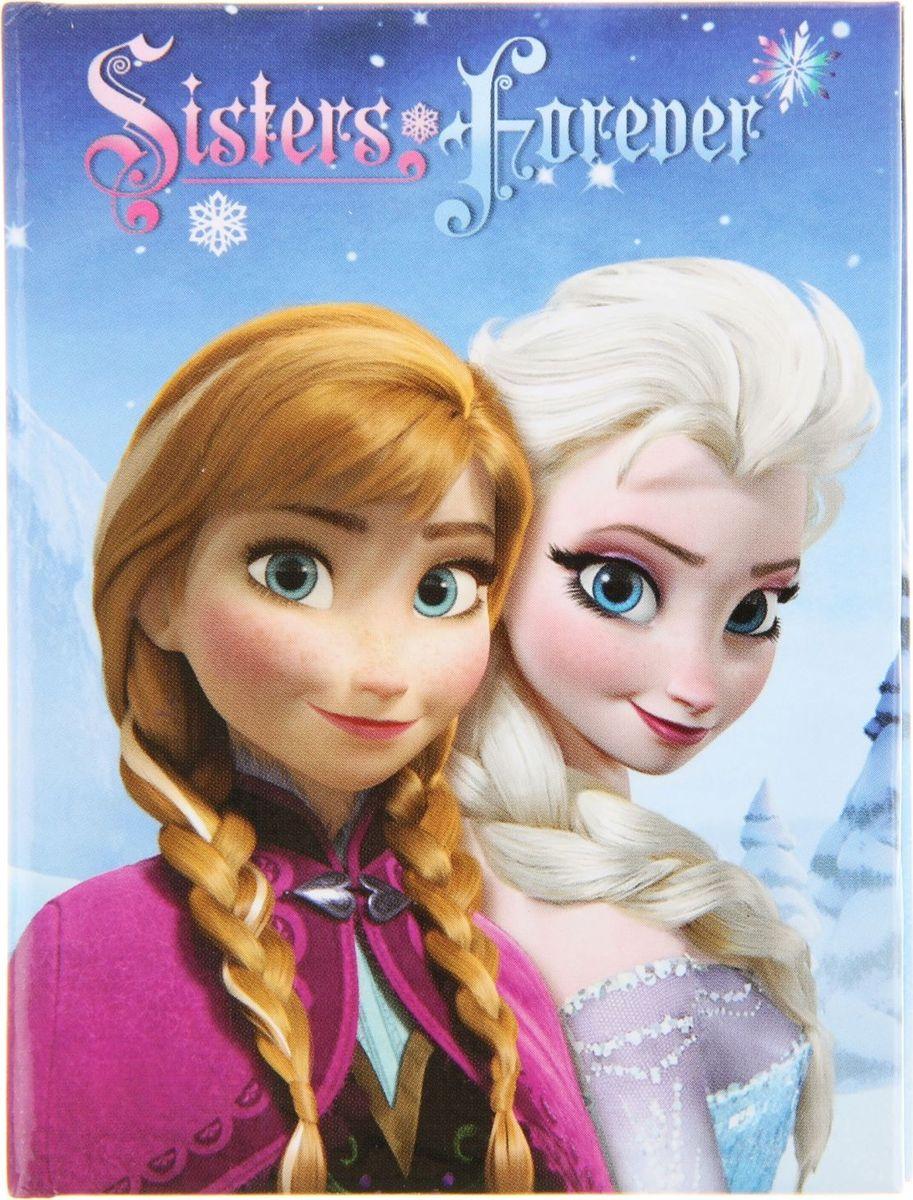 Disney Записная книжка Холодное сердце-6 64 листа в клетку730396Записная книжка Disney  Холодное сердце-6 - компактное и практичное полиграфическое изделие, предназначенное для разного рода записей и заметок.Такой предмет прекрасно подойдёт для фиксации повседневных дел.Записная книжка в твердой обложке с глянцевой ламинацией содержит 64 листа в клетку формата А7.