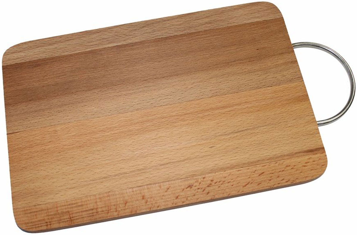 Доска разделочная Dommix, прямоугольная, 25 х 35 х 1,8 смMO9Прямоугольная разделочная доска с металлической ручкой Dommix изготовлена из бука в России.Прекрасно подходит для приготовления и сервировки пищи. Особенности разделочной доски Dommix:высокое качество шлифовки поверхности изделий, двухслойное покрытие пищевым лаком, безопасным для здоровья человека, степень влажности 8-10%, не трескается и не рассыхается, высокая плотность структуры древесины,устойчива к механическим воздействиям,не предназначена для мытья в посудомоечной машине.