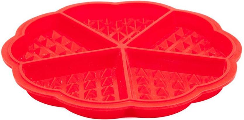 Форма для выпечки Bradex Сладкие сердца, силиконовая, 5 ячеек68/5/4Для бодрящего завтрака или романтического ужина прекрасно подойдут пышные и вкусные вафли. Теперь вам не потребуется вафельница или иные громоздкие приспособления: все, что вам нужно, – это духовка и форма силиконовая Bradex Сладкие сердца.Преимущества:Компактна и удобна в хранении Выполнена из качественного термостойкого силикона, выдерживающего нагрев до 220°СРомантичная форма в виде сердечекНе требует добавления масла