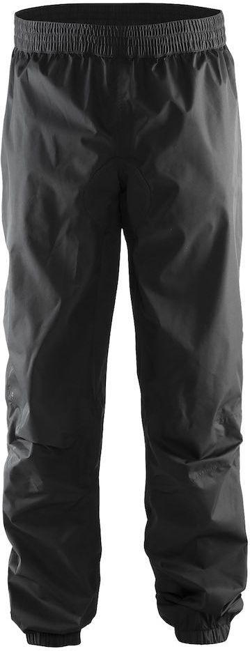 Штаны мужские для велоспорта Craft Escape Rain, цвет: черный. 1904055. Размер MKBO-1014Легкие ветро- и водонепроницаемые брюки с проклееными швами и удобной посадкой.