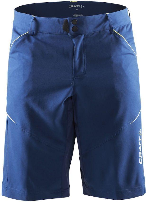 Шорты мужские для велоспорта Craft Escape Bike, цвет: синий. 1903301. Размер XSKBO-1014Функциональные шорты с эластичными вставками для оптимальной свободы движений. Эластичный и износостойкий материал.